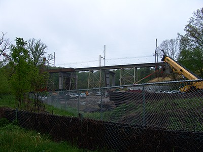 The Crumhedge became a construction site in 2016. photo credit: R. Robert