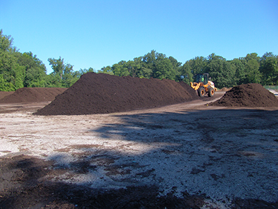 township/college leaf compost