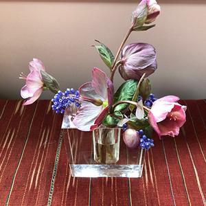 flower arrangement block